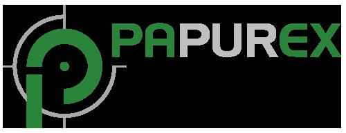 Papurex Logo - Qualität am laufenden Meter