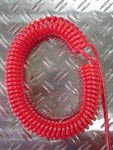 Schlauchspiralen rot